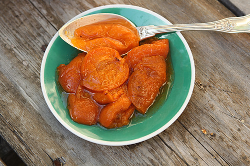 baked apricots | by David Lebovitz