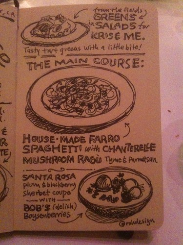 Chez Panisse Sketchnote 2 | by Mike Rohde