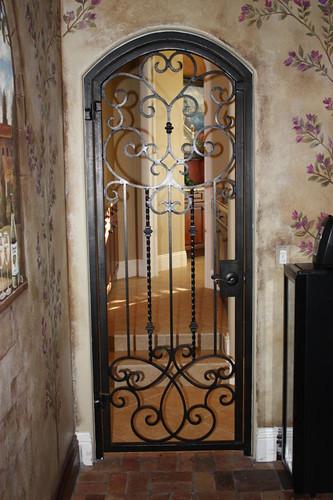 Forge Iron Designs Wrought Iron Wine Cellar Door Www