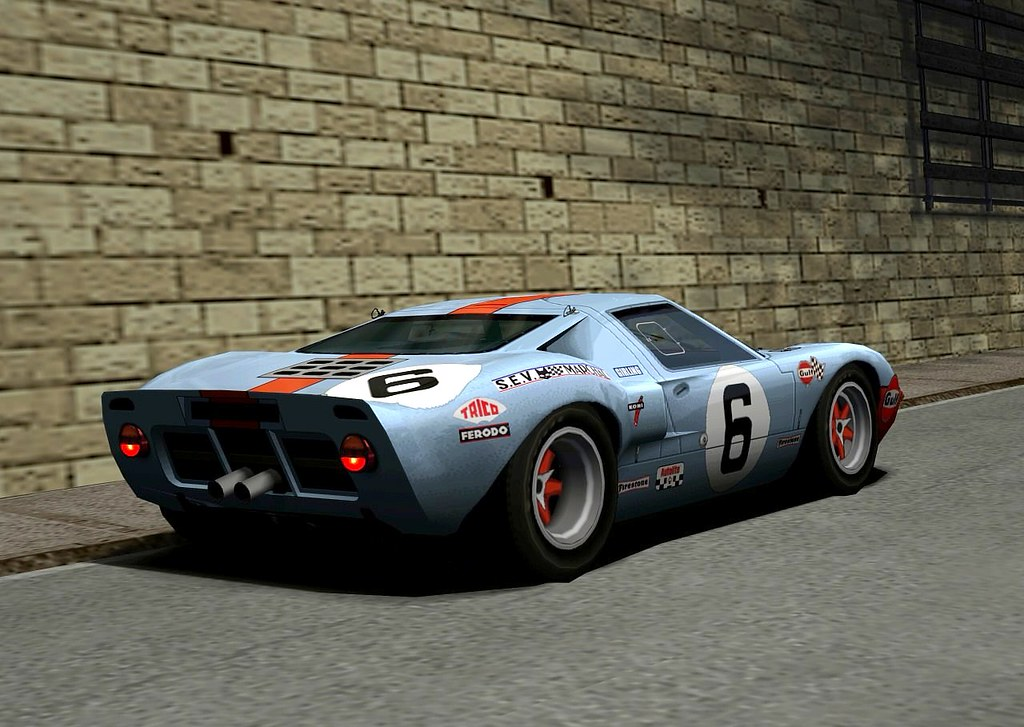 Gran Turismo 4 Ford Gt40 Race Car 69 I Created These Pho Flickr