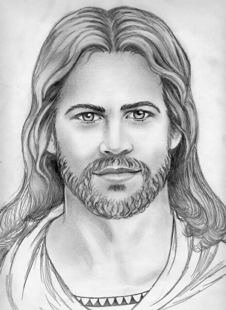 Jesus Drawing Pencil | Flickr - Photo Sharing!