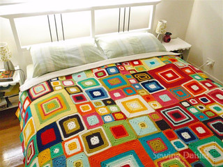Crochet: Vivid Dreams Blanket Completed! | by Sewing Daisies
