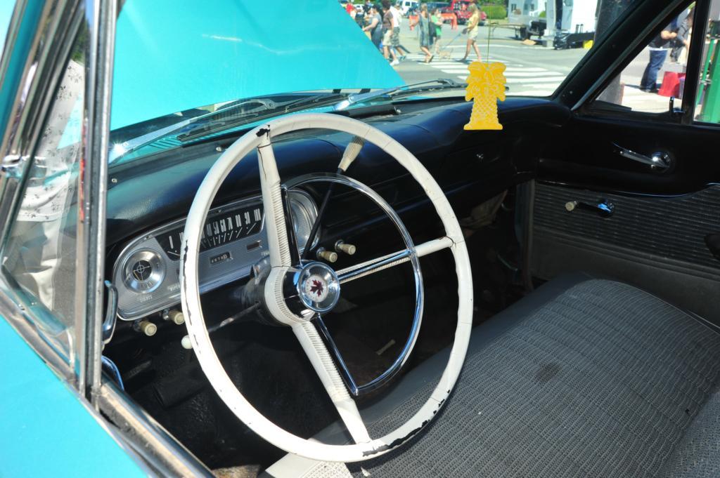 1960 Ford Frontenac Dash White Steering Wheel Worn