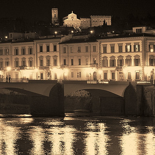 Rita Crane Photography: Golden Evening Along the Arno, Florence | by Rita Crane Photography