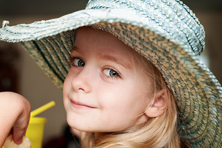 Madelyn and the hat: the non-phone version | by vandyll.net