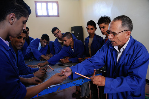 Students at a vocational education and training center | by World Bank Photo Collection