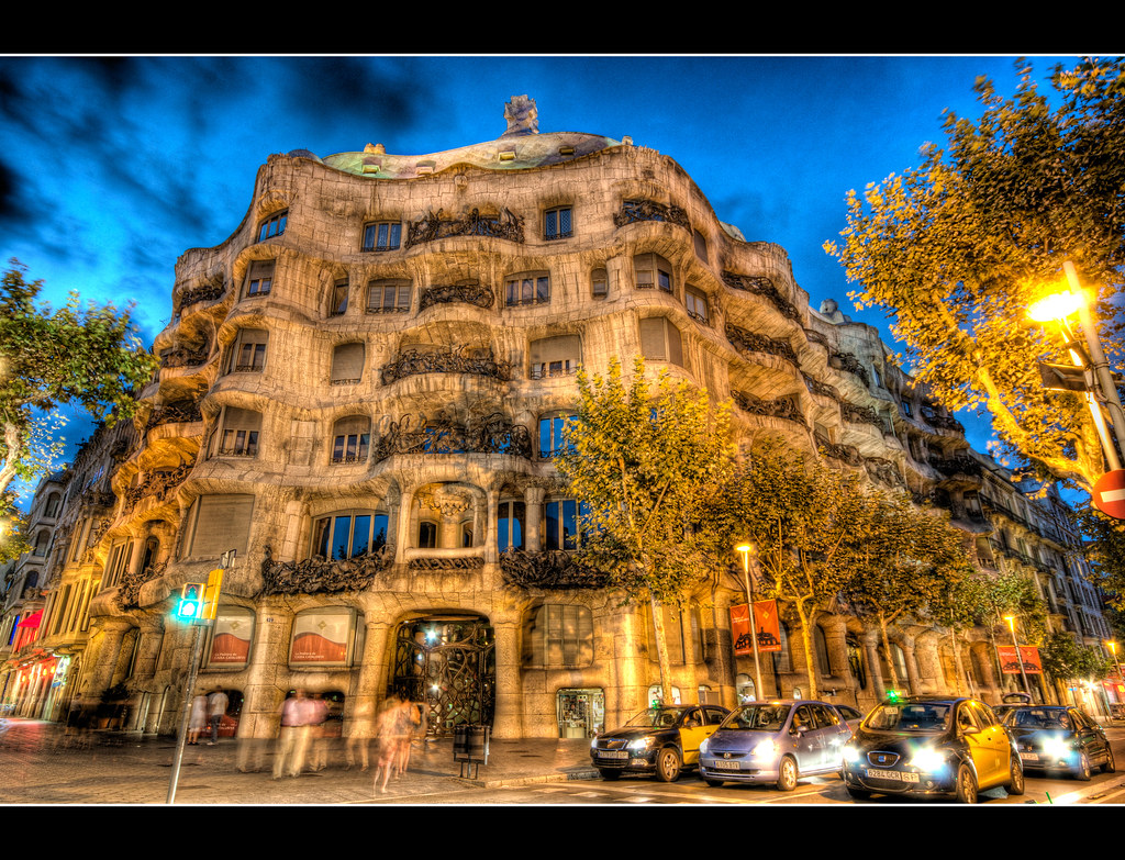 Casa Mila, La Pedrera, Barcelona  Casa Milà, better known a…  Flickr
