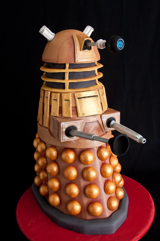 Dalek Cake Images