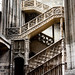 Stairs in the Rouen Cathedral