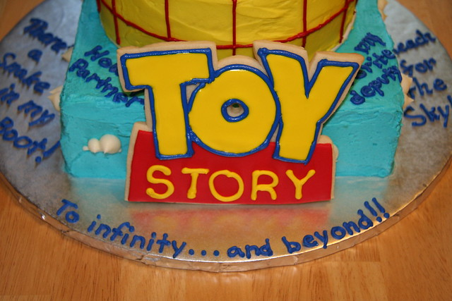 Toy Story logo cookie | Flickr - Photo Sharing!