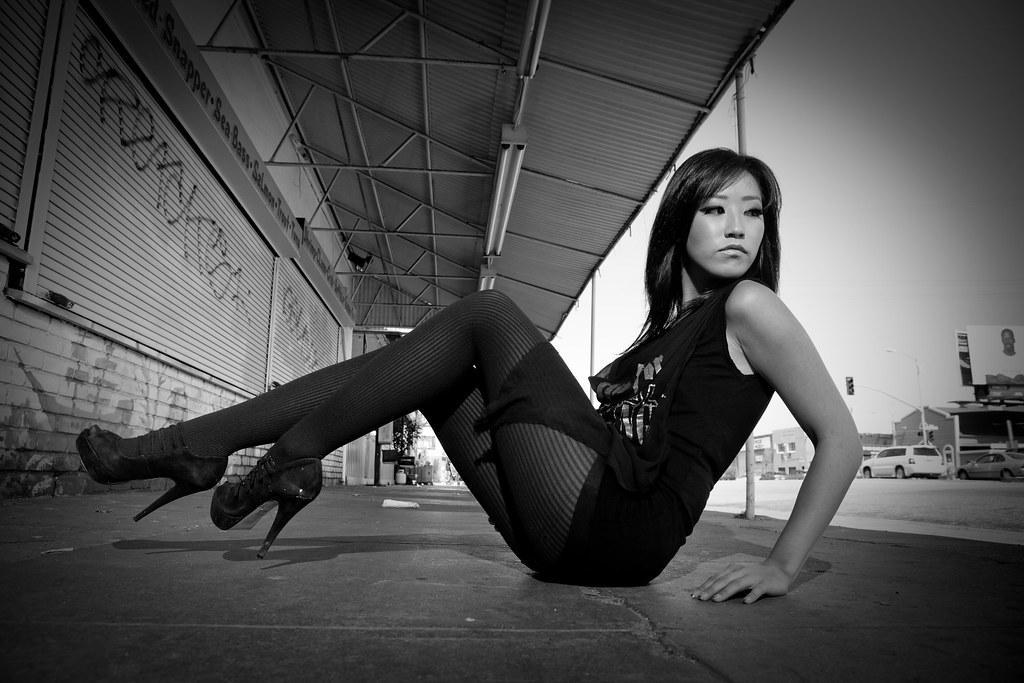 Asian woman san