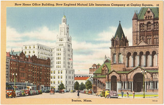 New home office building new england mutual life insuranc for New home construction insurance