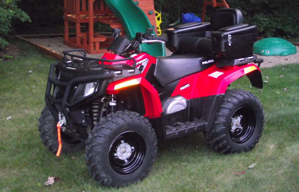 2009 Polaris Sportsman 400 HO | Much like my old Jeep, I cou… | Flickr