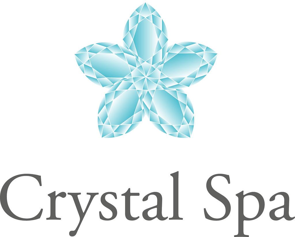 Logo Crystal Spa   © Katja Haas   www.design-works.at ...
