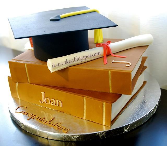 Graduation Book Cake Car Interior Design
