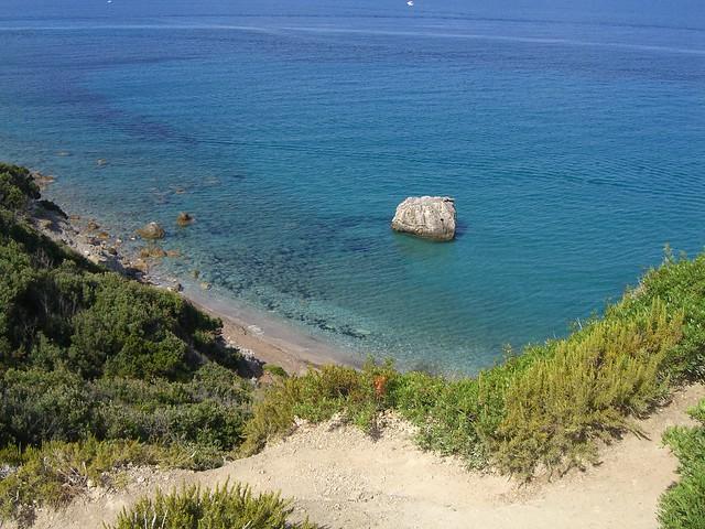 Isola del Giglio - cala Pozzarelli