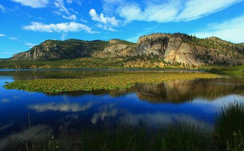 Vaseux Lake Okanagan Valley British Columbia Lens