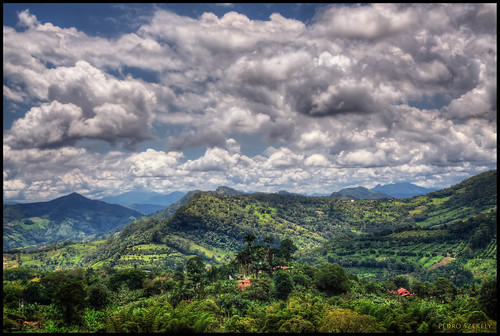 Sasaima, Colombia | View from from the farm of my good ...