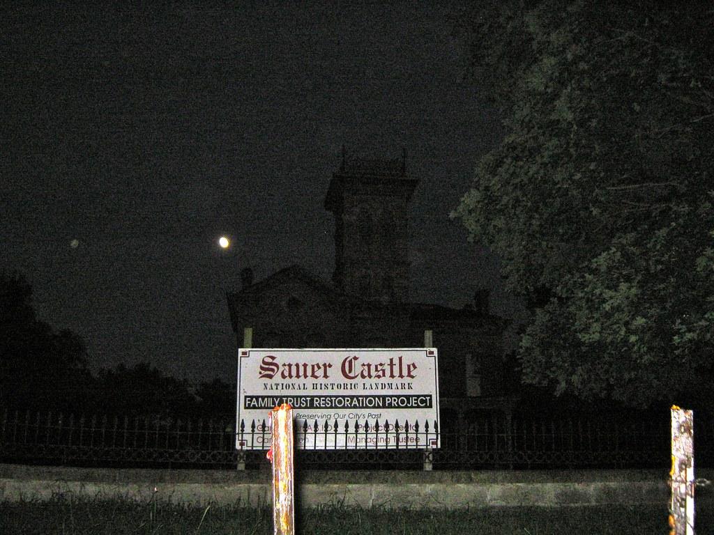 Orbs Surrounding Sauer Castle On The Kansas City Ghost