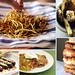 zucchini collage snack
