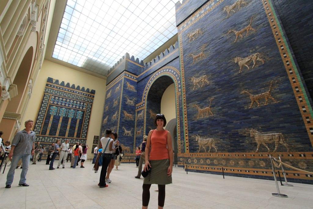 Ishtar Gate Pergamon Museum Berlin Germany The