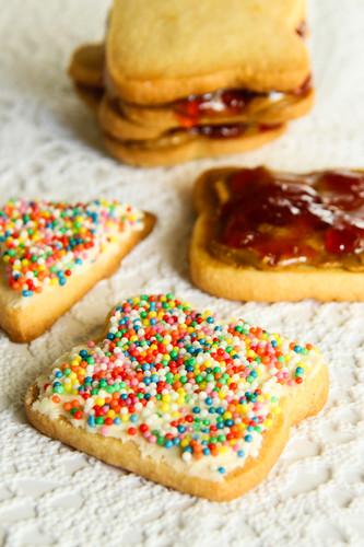 PB&J Cookies/Fairy Bread Biscuits | PB&J Cookies/Fairy ...