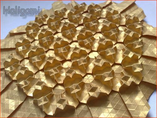 ... 3D tessellation | Creator: H.R-N (me) Paper: hexagon,… | Flickr