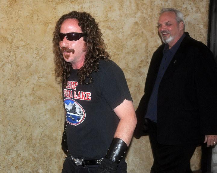 ari lehman and bill johnson at the horrific film fest 2009
