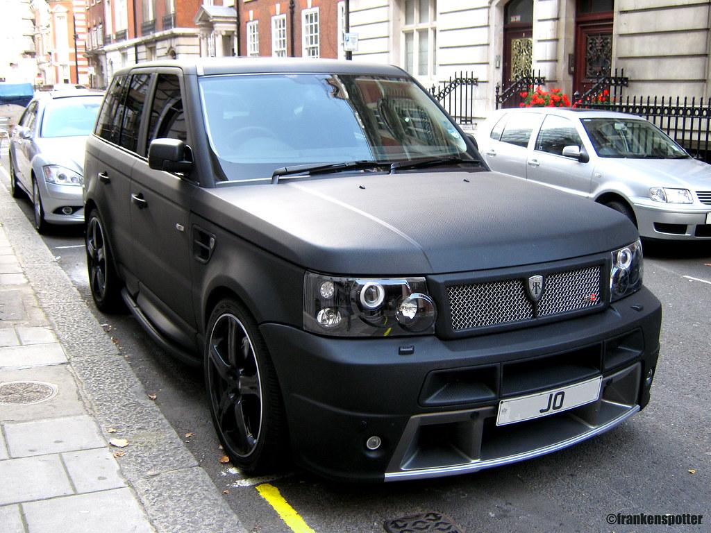 Matte Black Range Rover Sport Hse By Revere That S No Car Flickr