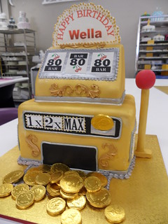 Poker/Slot Machine Cake | by linnymacs