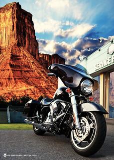 Harley Davidson Flhx Street Glide Cc