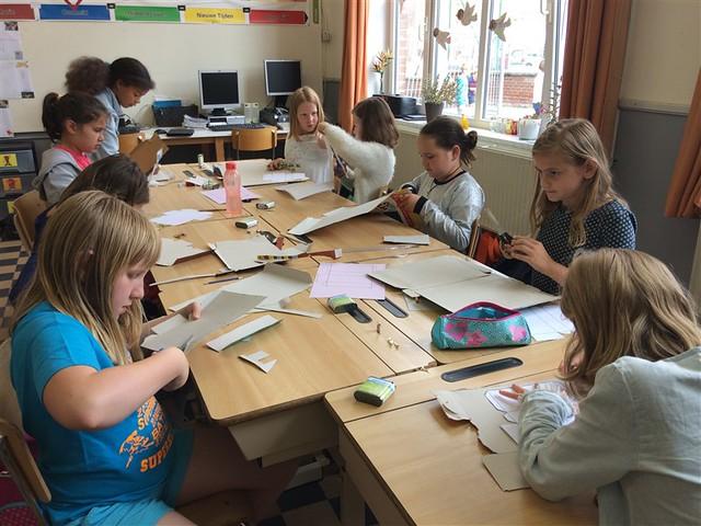 29 juni - Techniek: Een zaklamp maken (5de leerjaar)