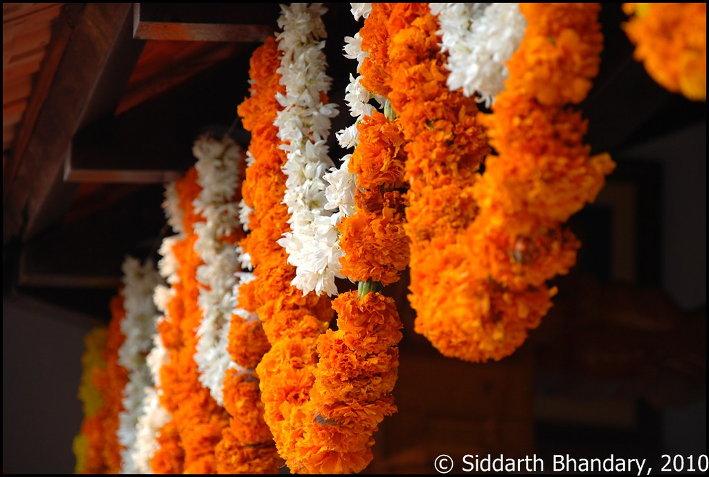 Flower Decoration For House Warming Ceremony Siddarth Bhandary Flickr