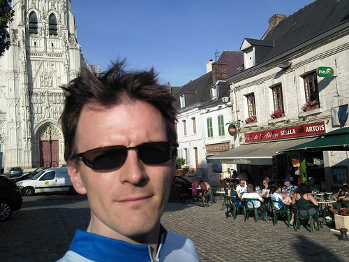 In Saint-Riquier (another beer stop before reaching Abbeville) | by Trevor Coultart