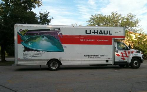 U Haul Truck Delaware Horseshoe Crab IMG 0074