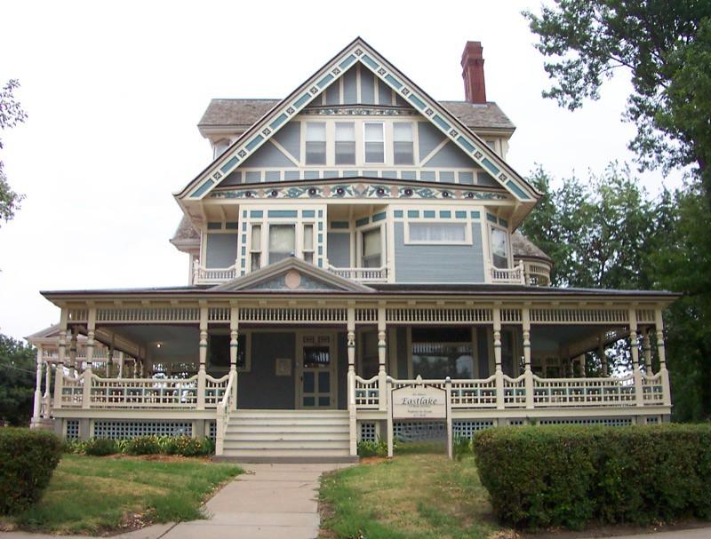 Lincoln ne eastlake manor house hurlbut aeneas for Case fabbricate in stile vittoriano