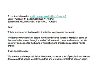 MMF2006.auntyemail1 | by Aunty Meredith