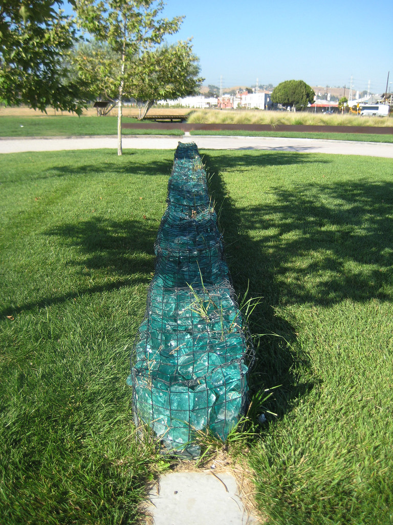 Recycled Glass Gabion According To The Signs These