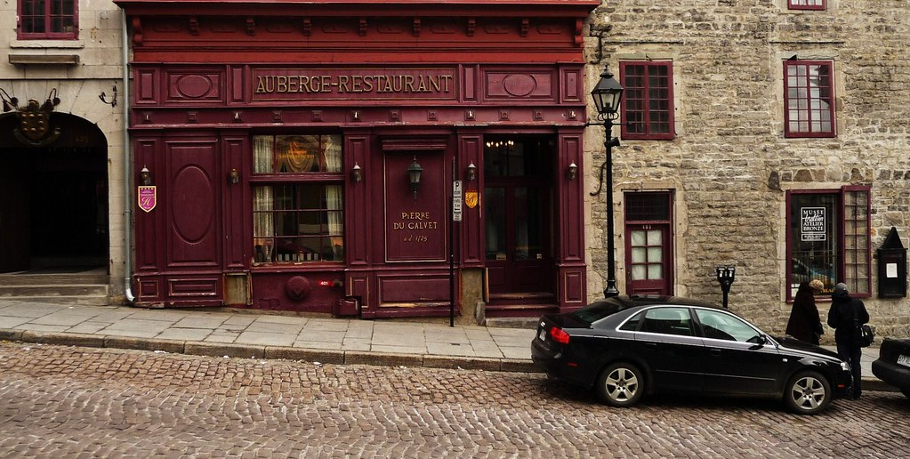 Old Montreal Auberge Restaurant