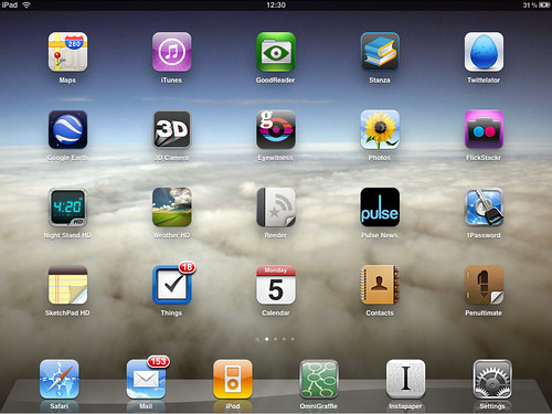 my iPad Home Screen | by spiritquest