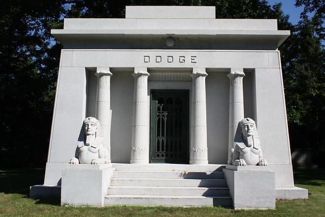 Dodge Brothers Mausoleum Woodlawn Cemetery Detroit Mi