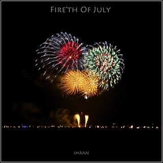 Fire'th Of July: Fourth Of July Fireworks, Great South Bay, Patchogue, Long Island, NY - IMRAN™ — 6300+ Views! | by ImranAnwar