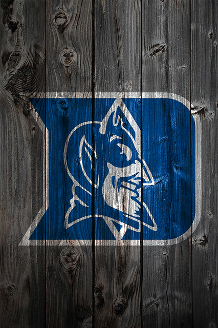 Duke Blue Devils Wood iPhone 4 Background | Duke Blue ...