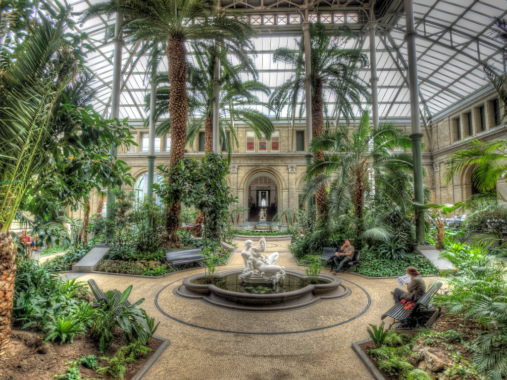 The winter garden ny carlsberg glyptotek copenhagen den flickr - Gardening mistakes maintaining garden winter ...