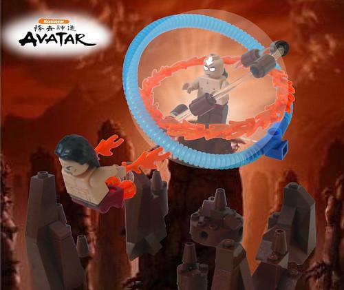 Avatar Fighting Game: Lego Avatar: The Last Airbender - Final Battle