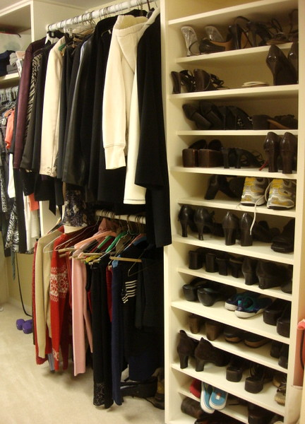master bedroom closet with built in shoe rack baby chick designs flickr. Black Bedroom Furniture Sets. Home Design Ideas