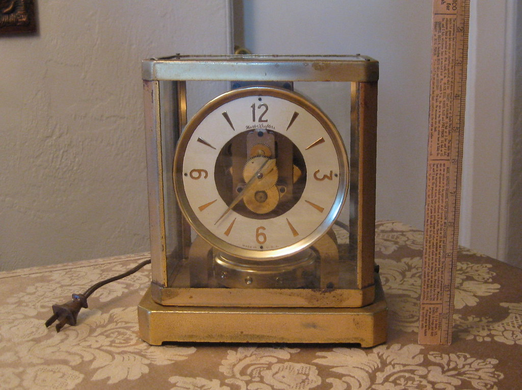 Mastercrafters Model 308 Electric Quot Atmos Quot Type Clock Flickr