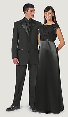 Formal Wear Men And Women Look As Good As You Perform