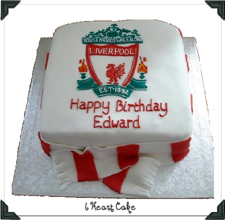 Liverpool FC Cake | The logo was a run out completed directl… | Flickr