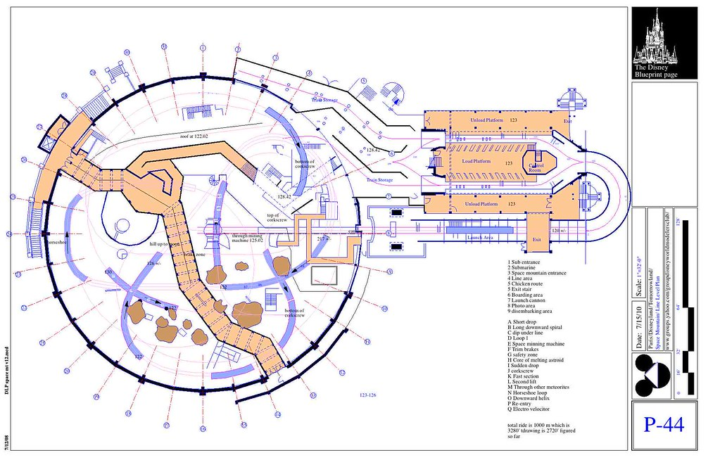DLP space mt First Level | I had done these plans before ...